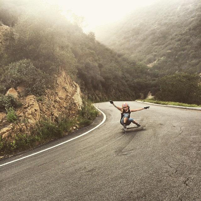 carmen surta, longboard girls crew, longboarding, skate, skateboarding, sliding, downhill, fast, rad, cool, strong, women