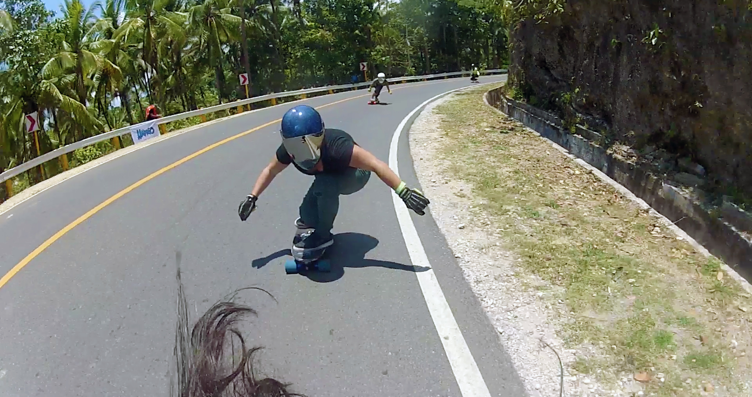 following maga capalanas heelside