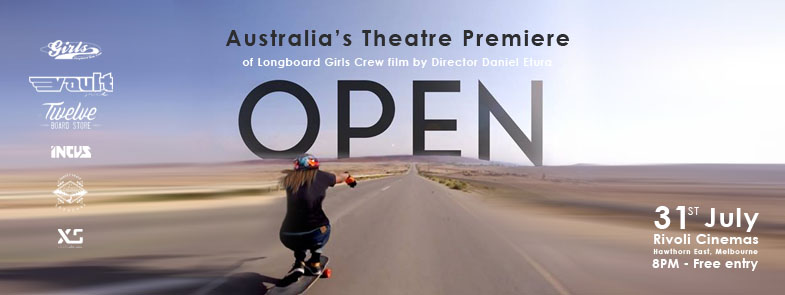 longboard girls crew, open, lgc open, skate, israel, movie, skateboarding, longboarding, skate, cool, chicks, rad, girls, women, strong, australia, melbourne