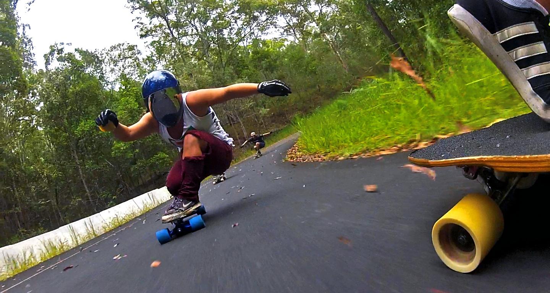 Australia, longboard girls crew, rachel bagels, lgc, downhill, longboarding, skateboarding, skate,