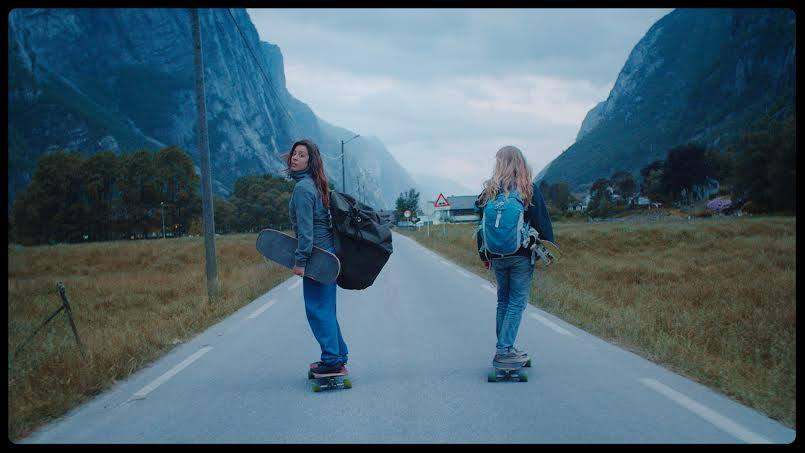 ishtar backlund, norway, tussilago, longboard girls crew, longboarding, skateboarding, skate, fast, badass, friends, maceo frost, landscapes, beautiful, cool, awesome, vimeo staff pick, great video, amazing