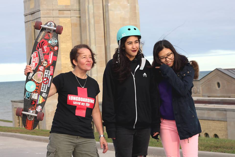 toronto Girls Longboarding, Skate Invaders, FUBU, Canada, Longboard Girls Crew, longoarding, skate, skateboarding, women, gender equality, rad, cool, style, strong, women, boards, friends, friendship