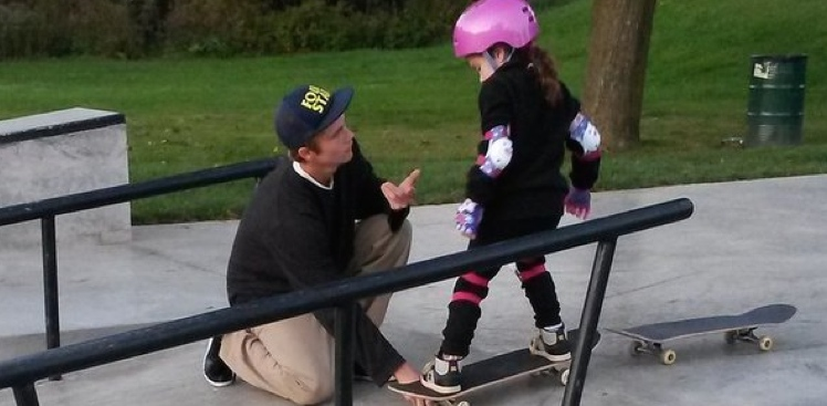 Skateboarder, longboard girls crew, skate like a girl, skateboarding, community, little girl, learning, cool, rad, strong, awesome, friends, skatepark, love, equality, gender, kind,