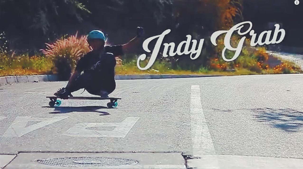 chile, longboard girls crew, javiera esteban, lgc chile, trick tip, indy grab, tutorial, como hacer un slide, derrape, indy, skate, longboarding, girl, woman,