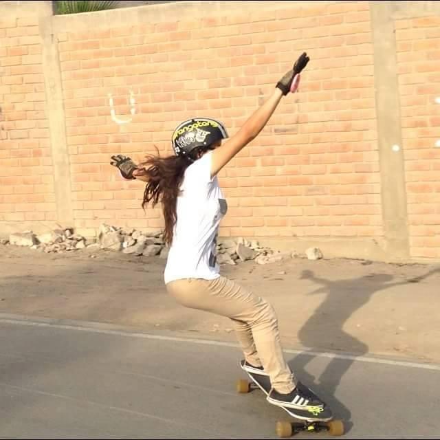 Zulema lee, peru, lgc peru, peruvian, longboard girls crew, longboard, longboarding, skate, skateboarding, women, skate like a girl, cool rad, strong, skater girl, slide, style, lgc.