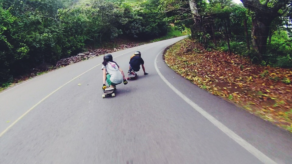 longboard girls crew, costa rica, longboarding, downhill, skateboarding, skate like a girl, sylvia mean, lgc costa rica, longboarding, rad, cool, awesome, women, support, kala chavez