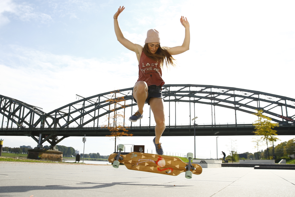 Bella, longboard girls crew, longboard, longboarding, skate, skateboarding, cool, rad, strong, awesome, photo, girl, power, sea, summer, amazing photo, girls who shred, girls who skate, lgc, friends, fun, skate like a girl, women supporting women, goals, beautiful, action, action sports, sport, women in sport, game changers, ride, female rider, athlete, girl boss, lean in, women unite, equality, balance, gender, gender equality, board, boards, sun, BTFL Longboards, BTFL, Germany, girl brand, made for girls,
