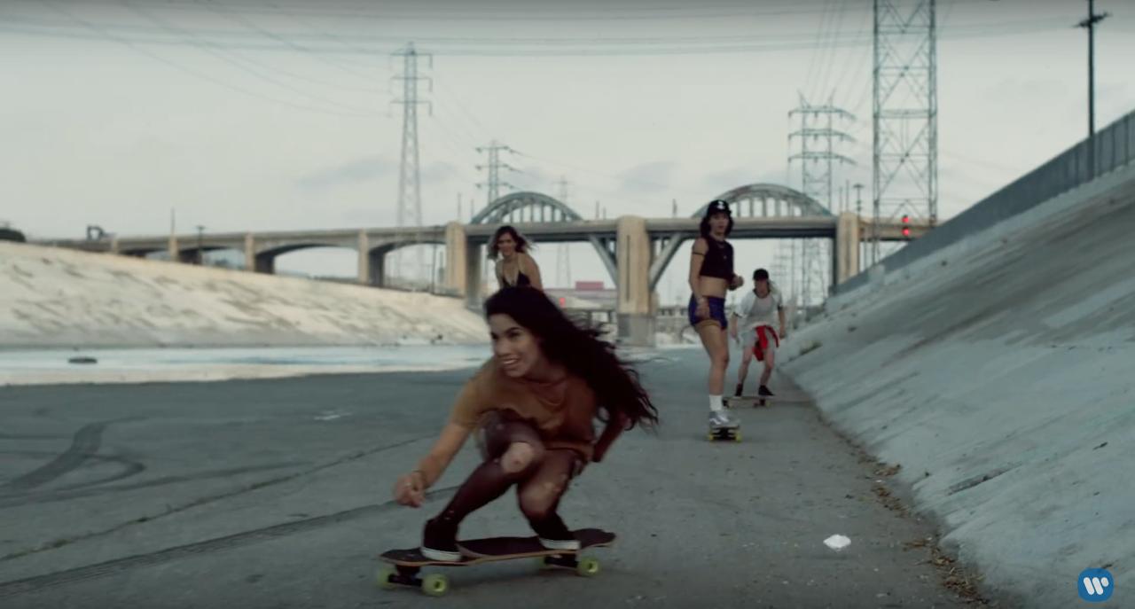 Longboard Girls in the new RHCP video - Longboard Girls Crew
