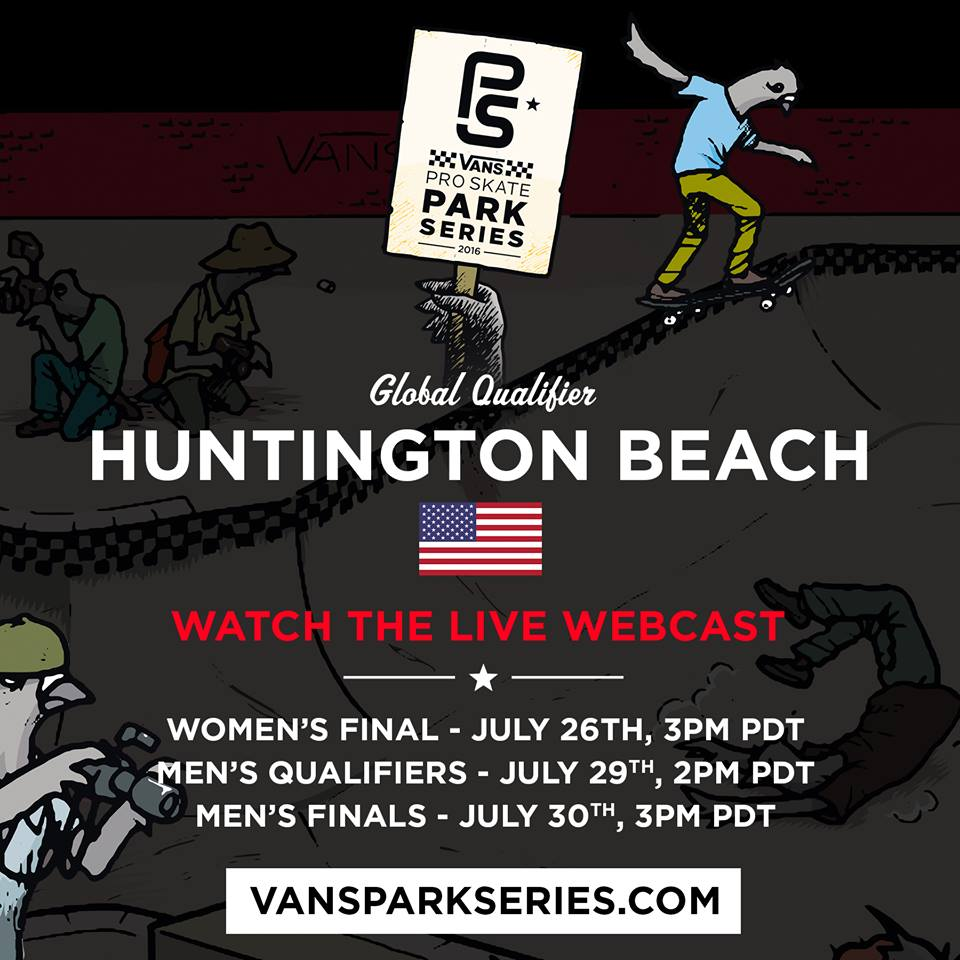 vans park series, vans, skate, skateboarding, competition, huntington beach, california