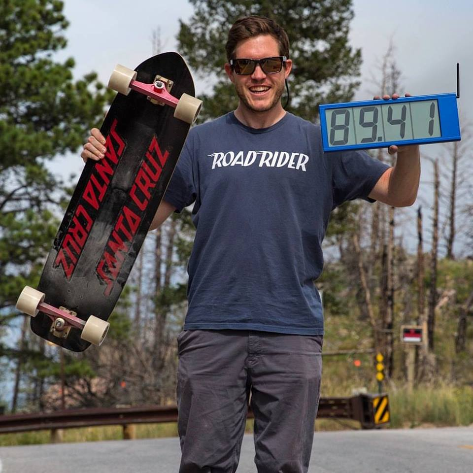 kyle wester, new speed world record, guinness world record, fastest man, skate, skateboarding, downhill skateboarding, longboard, longboarding, santa cruz, usa, colorado, fast af