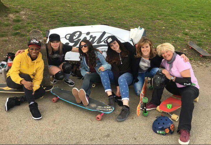 longboard girls crew, longboard, longboarding, skate, skateboarding, cool, rad, strong, awesome, photo, girl, power, sea, summer, amazing photo, nose manual, girls who shred, girls who skate, lgc, friends, fun, skate like a girl, women supporting women, goals, beautiful, action, action sports, sport, women in sport, game changers, ride, female rider, athlete, girl boss, lean in, women unite, equality, balance, gender, gender equality, board, boards, sun, longboard girl, longboard girls, boards, skater girl, skater girls, fashion, love, freeride, downhill, dancing, friendship, friends, be the change, work for change, Sabina Edwards, Cristina Ballerignar, Lyndsay McLaren, Sheree Wall, Astrid Ha, Ann Marie Philip, slide, freestyle, freeride, downhill, bbc news, bbc